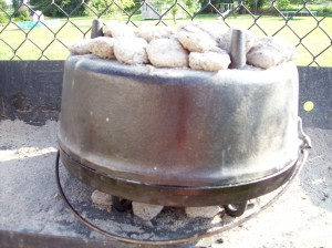 Upside Down Dutch Oven