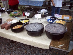 Dutch Oven Gathering Dinner Buffet