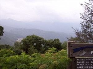Balsam Mountain Overlook