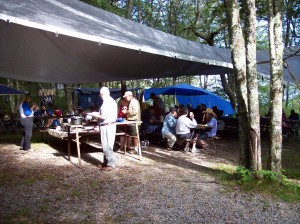 Dutch Oven Gathering Group Area